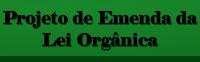 Projeto de Emenda à Lei Orgânica